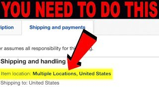 Analyzing the eBay Dropshipping Item Location Policy & Why I put Multiple Locations