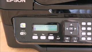 Epson L555 Ecotank - Installation und WIFI-Einrichtung