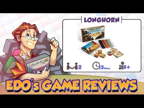 Edo's Longhorn Board Game Review