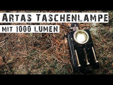 ALTE ARTAS TASCHENLAMPE MIT 1000 LUMEN - Olight Umbau (Mod) S1R Baton II Mini