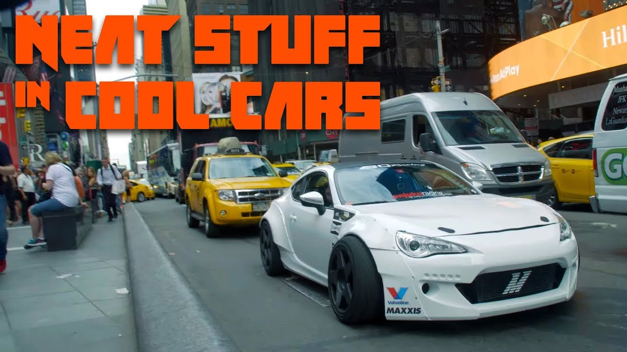 Taking One Of The World's Most Insane Drift Cars Into The Heart Of New York Is Certified Insanity