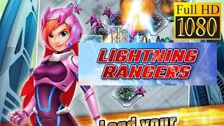 Lightning Rangers Game Review 1080P Official Uwan Strategy 2017