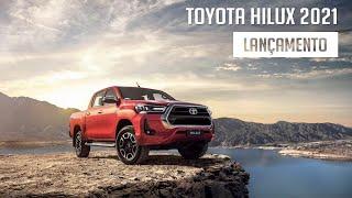 Lançamento - Toyota Hilux 2021