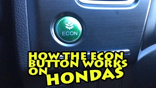 How the econ button works on a honda