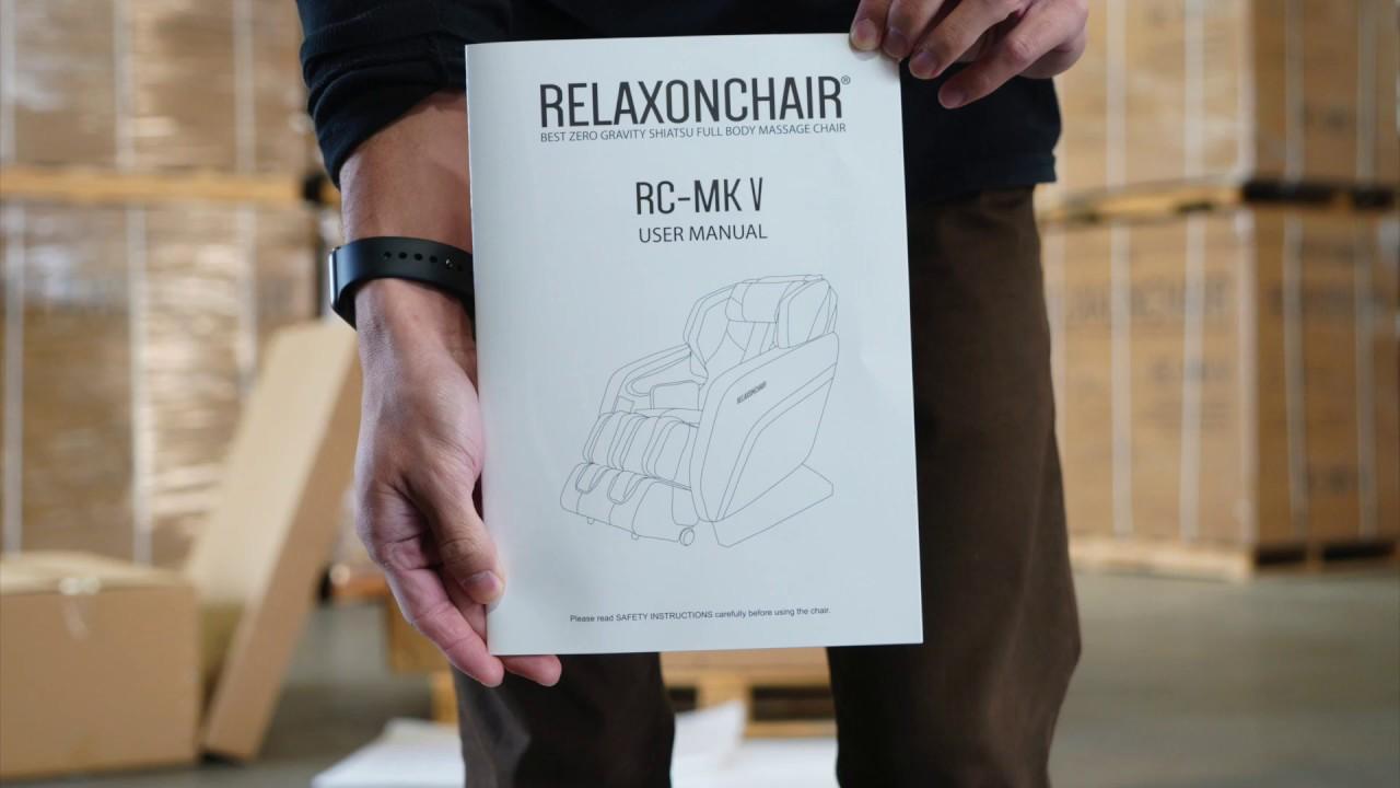 RELAXONCHAIR Massage Chair MK-V Installation