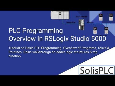 PLC Programming Tutorial | Allen Bradley Training in RSLogix 5000 ...