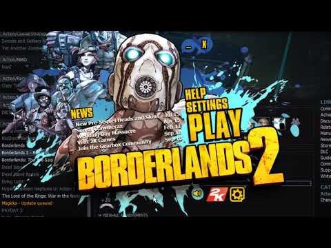 Game won't load anymore after a recent steam update :: Borderlands 2