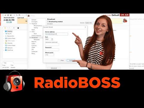 Live Radio Broadcasting via RadioBOSS (Tutorial) 🎙
