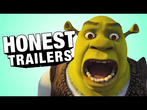 Shrek - Upřímné trailery
