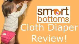 SMART BOTTOMS | Cloth Diaper Review