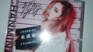 ちゃんみな Chanmina - 未成年 Miseinen album unboxing