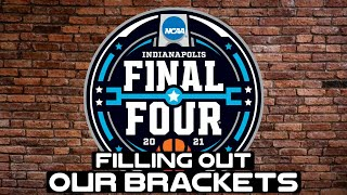 2021 March Madness Bracket Challenge filled out Live!