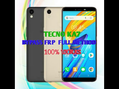 How to bypass frp Tecno KA7 SPACK 2 GOOGLE ACCOUNT - смотреть онлайн