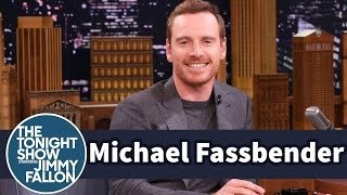 Were geeking out over Michael Fassbender shouting out COTA on Fallon the