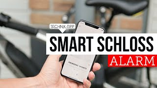 Review ABUS  Bordo SmartX Alarm eBike Fahrradschloß mit Smartphone Steuerung bringt Sicherheit !