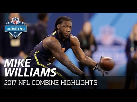 Mike Williams (Clemson, WR) | 2017 NFL Combine Workout