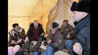 Губернатор края побывал с рабочей поездкой в Охотском районе