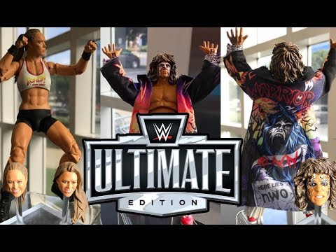 NEW WWE ULTIMATE EDITION FIGURE IMAGES!!! Ronda Rousey & Ultimate Warrior