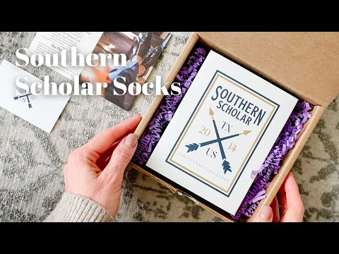 Southern Scholar Socks Unboxing February 2021