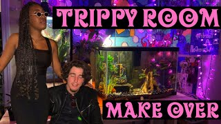MY TRIPPY ROOM MINI MAKEOVER