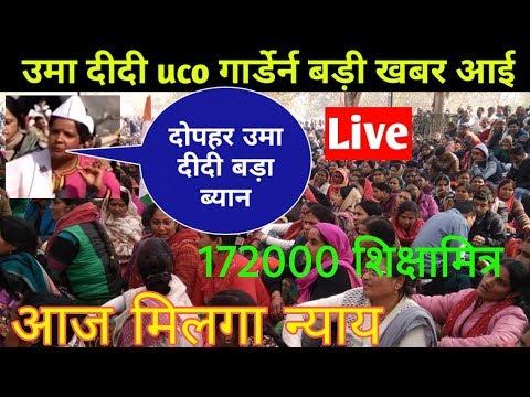 Up sikshamitra News hindi/Sikshamitra latest news up/19 शिक्षामित्र खबर uco गार्डेर्न उमा दिदी