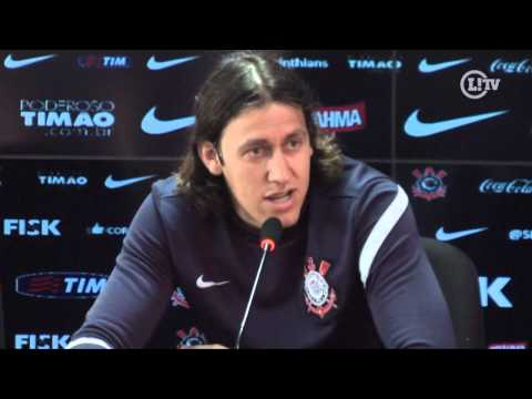 Cássio fala do rodízio de jogadores para o Mundial: 'Quero jogar'
