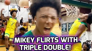 Mikey Williams Out Here Throwing NO LOOK LOBS! Atlanta Celtics Get WILD As Mikey Dishes 10 DIMES 💰