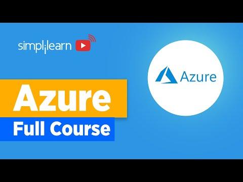 Azure Full Course   Microsoft Azure Training   Simplilearn