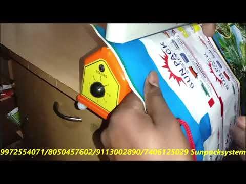 Manual Impulse Hand Sealer Machine