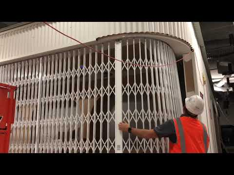 Curved S08 Trellis Security Door