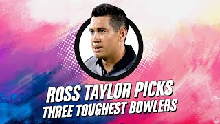 Ross Taylor picks three toughest bowlers he faced