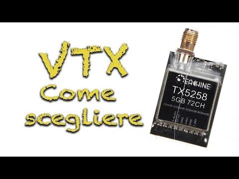 Scelta della VTX e miglior VTX economica. Eachine TX5258 - ITA