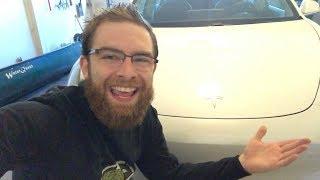 MY NEW CAR (Tesla Model 3 Unboxing)