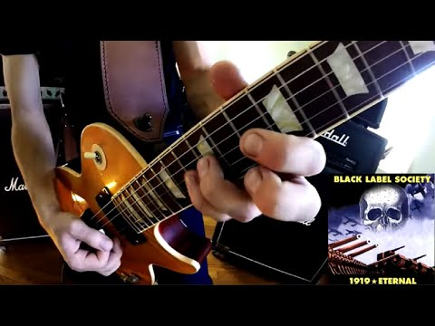 Black Label Society - Bleed For Me (Solo) by: Jason Williams
