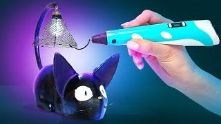 Wie man ein LED-Katzennachtlicht mit einem 3D-Stift bastelt