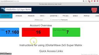 Заработок  без  вложения  - 2dollarwave