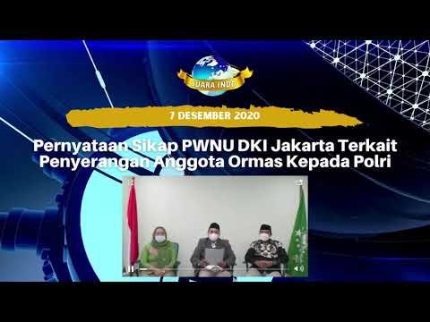 Pernyataan Sikap PWNU DKI Jakarta Terkait Penyerangan Anggota Ormas Kepada Polri