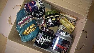 Supplements ausgepackt! - Glutamin, Creatin, Nitro Pump und mehr!