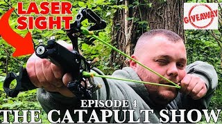 THE CATAPULT SHOW - Ep4 - With GAMEKEEPER JOHN, SLINGSHOT, SURVIVAL, HUNTING, SHOOTING..........