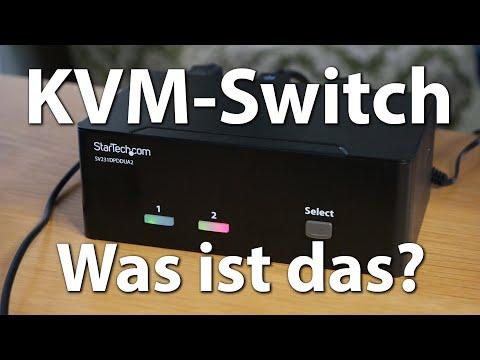 Zwei PCs mit einer Tastatur, Maus & Bildschirm dank KVM-Switches - Mit 4k @ 60 Hz und 1080p @ 144 Hz