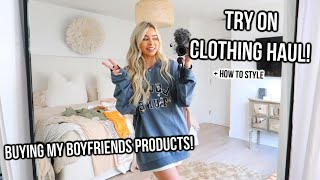 Try on clothing haul princess polly! buying my boyfriends products!