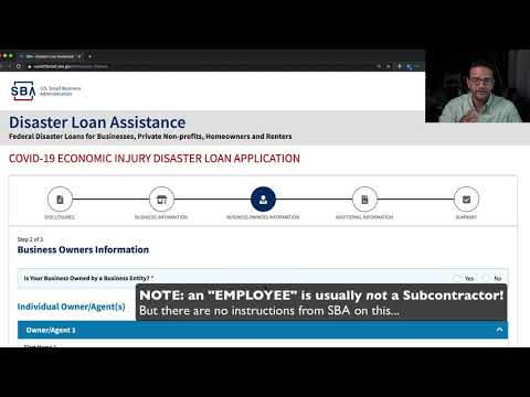 """, title : 'SBA """"EIDL"""" Loan for Small Business Application up to 500k"""