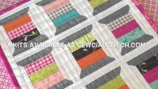 Thread Spool Quilt Block-Mini Quilt