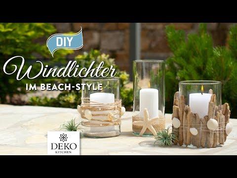 DIY: Windlichter im Beach Style schnell & einfach [How to] Deko Kitchen
