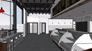 Previte's Marketplace - Interior Animation