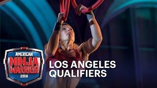 Jessie Graff at the 2016 Los Angeles Qualifiers | American Ninja Warrior