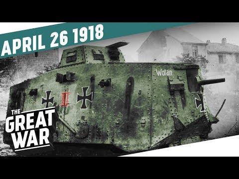 První tanková bitva v dějinách