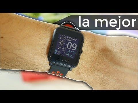 el mejor reloj inteligente que puedes comprar, 31 DÍAS DE BATERÍA   Amazfit Bip