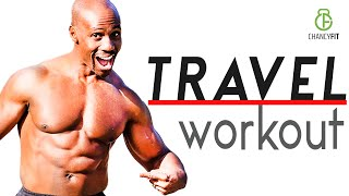 The BEST WORKOUT When Travelling | Resistance Band