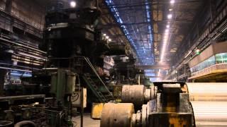 Стан горячей прокатки Новолипецкого металлургического комбината
